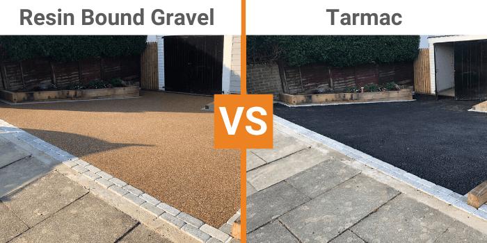 resin bound gravel vs tarmac for driveway