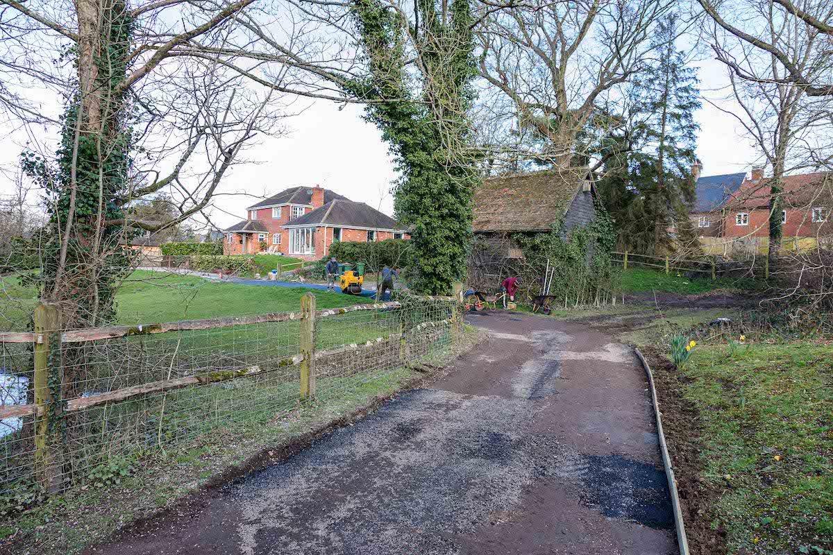 Tarmac Driveway   Old Wickhurst Land   SGS Surfacing