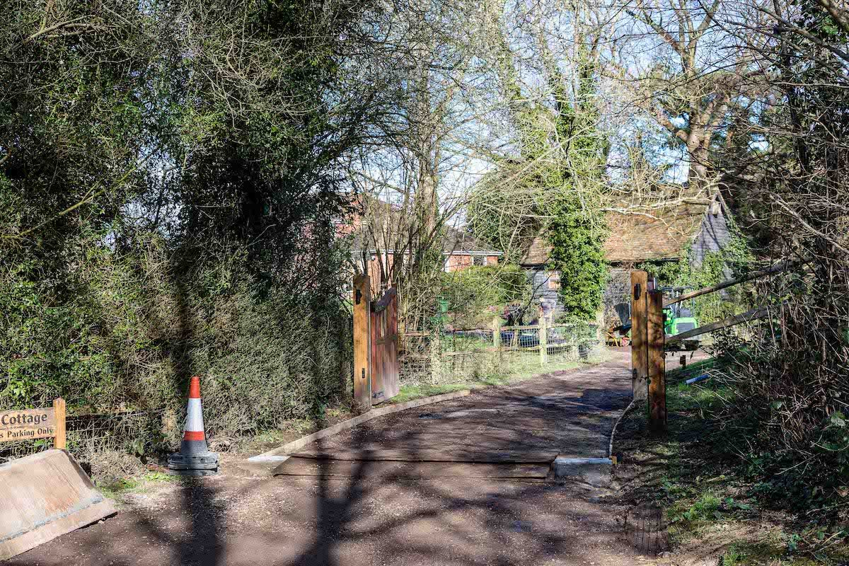 Before: Tarmac Driveway   Old Wickhurst Land   SGS Surfacing
