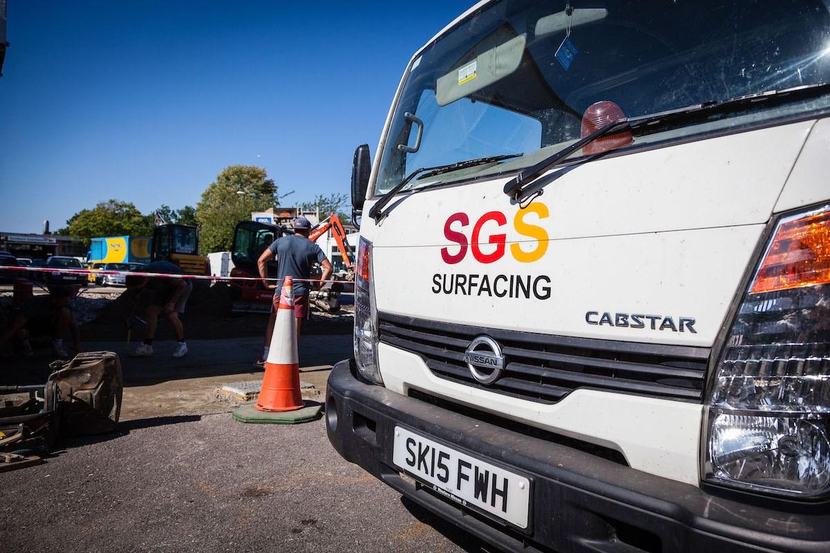 Ground Works | SGS Surfacing
