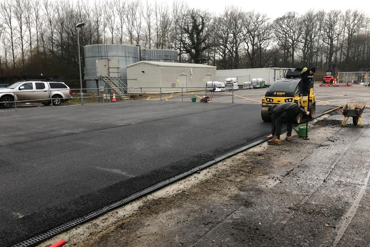 Thermo Fisher Surfacing & Drainage Project | SGS Surfacing